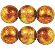 Gul/orange melerad 5 mm 30-pack