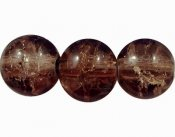 "Brun ""crackle"" 8 mm"
