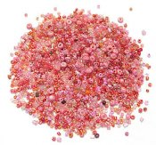 Rosa Seedbeadmix 2-3 mm