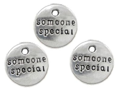 "Hänge med texten ""Some one special"" 8-pack"