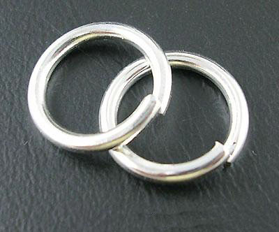 Ring silver 4 x 0,6 mm